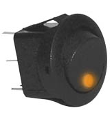 Round Rocker Switch -RKR4A