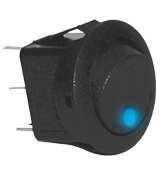 Round Rocker Switch -RKR4B