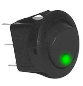Round Rocker Switch -RKR4G